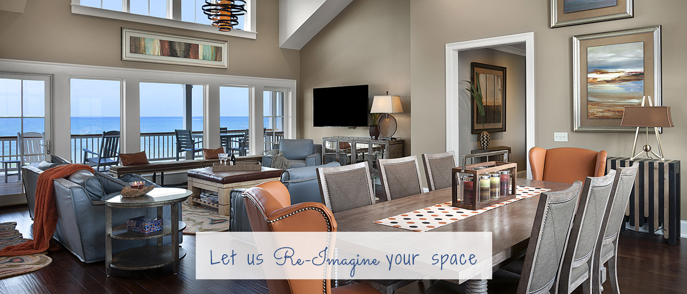 Re-Imagine Interior Design & Laura Bowden Designs - Myrtle Beach Interior Design Firm